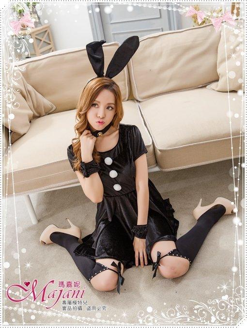 [瑪嘉妮Majani]真正大尺碼- 獨家 角色扮演 兔女郎 XL~6XL 質感超好 全套5件組 免運 sc-077