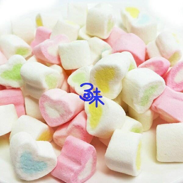 (菲律賓) 蜜意坊 造型棉花糖 (TO-11 迷你心棉花糖 1.5cm) 1包1公斤 特價168元 (雪Q餅、雪花餅原料)