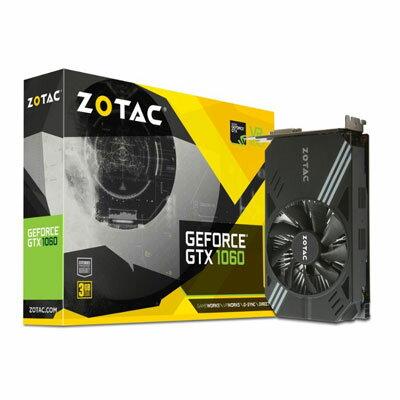 ZOTAC 索泰 Z-GTX1060-M-3G 顯示卡