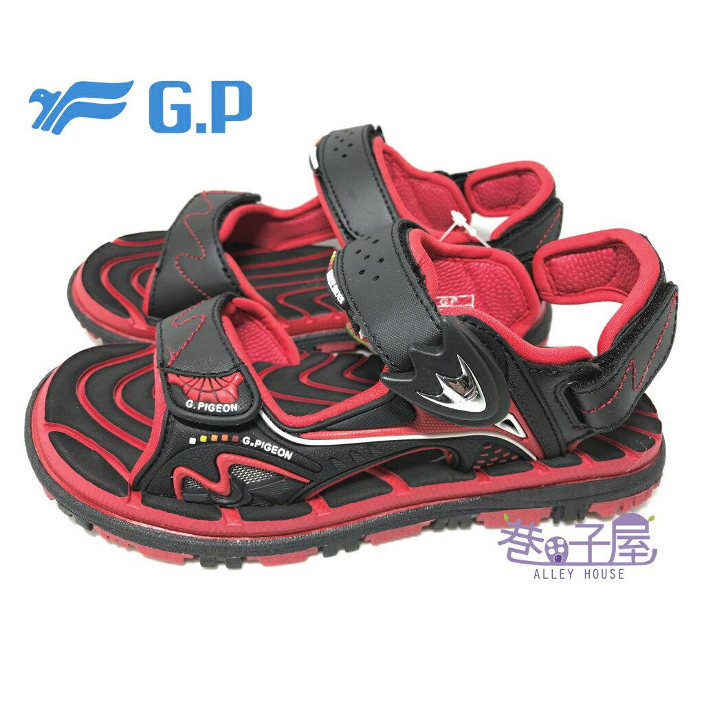 【巷子屋】G.P 童款磁釦兩穿系列透氣運動涼鞋 [5929] 紅 超值價$398