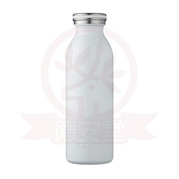 日本mosh!牛奶系保溫瓶(450ml)-牛奶白x1