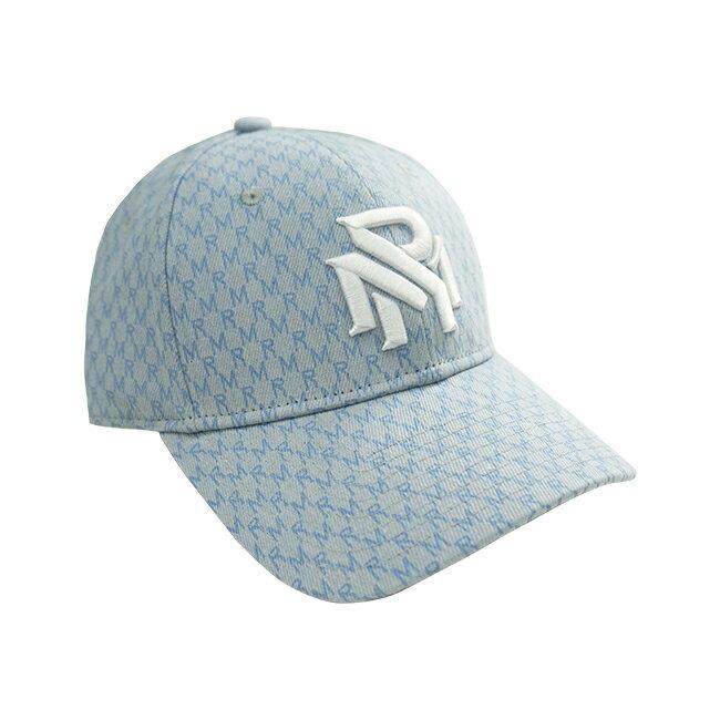 RM滿版花紋老帽-藍 2