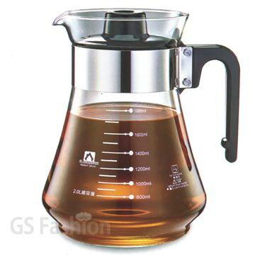 珍昕生活網:【珍昕】瓦斯爐適用耐熱玻璃壺~(2000ml)GLASSHOUSE