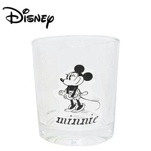 【日本正版】米妮玻璃水杯玻璃杯Minnie200ml透明水杯迪士尼Disney-226915