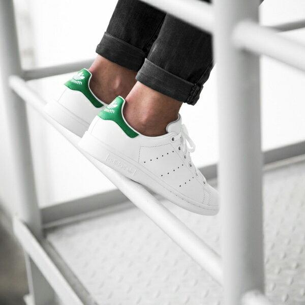 ★下殺$2680★【BEETLE PLUS】ADIDAS ORIGINALS STAN SMITH 白綠 愛迪達 復古 休閒鞋 余文樂 女鞋 M20605 3