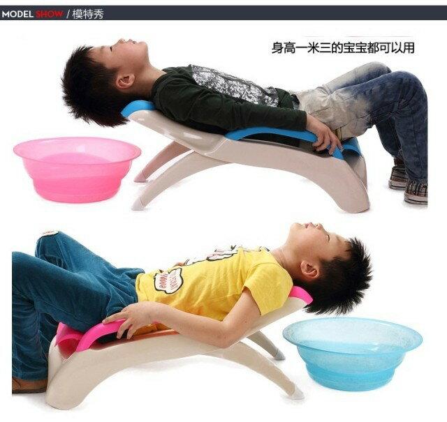 兒童洗髮椅(顏色隨機出貨)