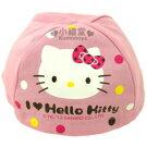 〔小禮堂〕Hello Kitty 安全帽內襯《粉紅.大臉》防塵衛生避免異味
