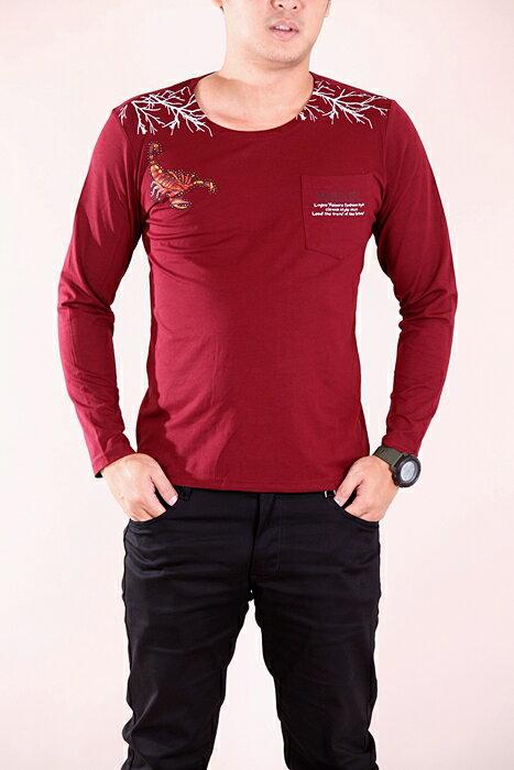 CS衣舖 彈力伸縮 高質感 長袖T恤 3324 5