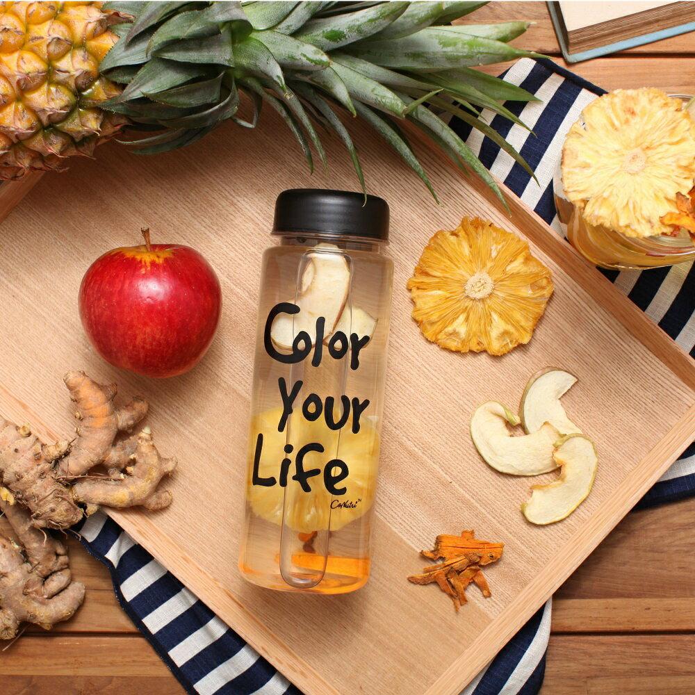 【台灣常溫】Color Your Life 花果水手提禮盒 (15包 + 1隨身瓶)-冷沖熱飲都可以