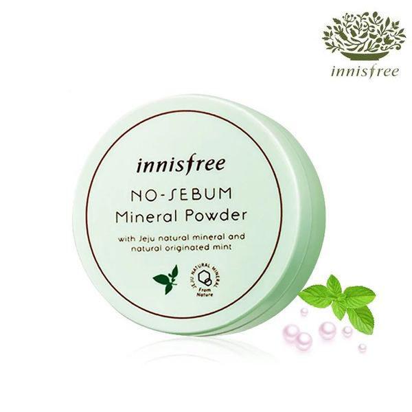 韓國innisfree 天然薄荷礦物控油蜜粉(5g)【AN SHOP】 - 限時優惠好康折扣