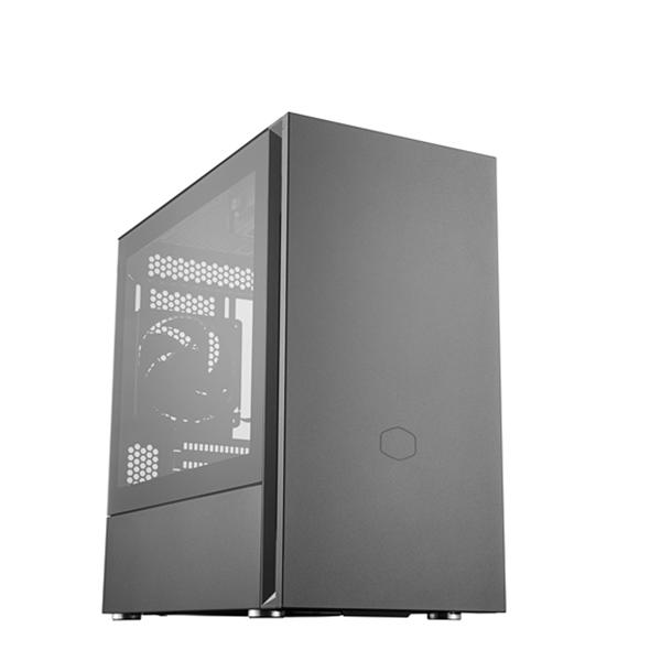 Cooler Master 酷碼 SILENCIO S400 玻璃版 USB 3.0 *2 (Micro-ATX專用) 電腦機殼