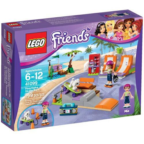 樂高積木LEGO《 LT41099 》2015 年 Friends 姊妹淘系列 - 心湖城滑板公園