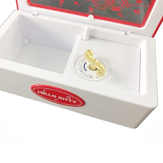 方形復古音樂盒-KITTY 凱蒂貓 MUSIC BOX CF304S 三麗鷗 Sanrio 日本進口