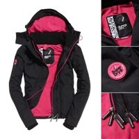 Superdry極度乾燥-女外套推薦到10月秋季購物節↘ ↘全店滿4000再折200!Superdry 極度乾燥 Pop Zip Arctic SD-Windcheater 連帽防風夾克就在SIMPLE推薦Superdry極度乾燥-女外套