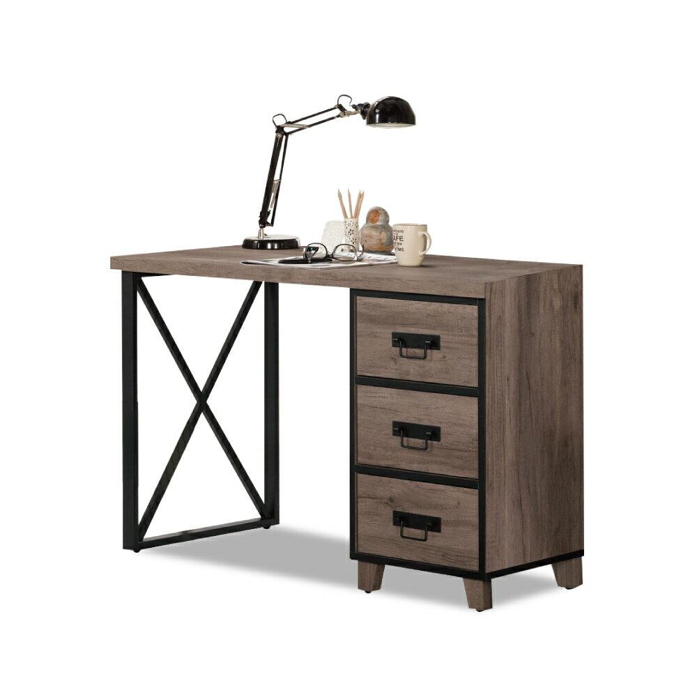 哈麥德4尺書桌(寬121x深57x高76cm)/ASSARI