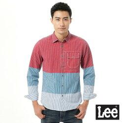 Lee Urban Rider 拼接長袖襯衫