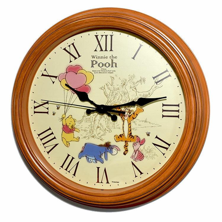 小熊維尼 時鐘 掛鐘 靜音 日本帶回正版商品 迪士尼 pooh