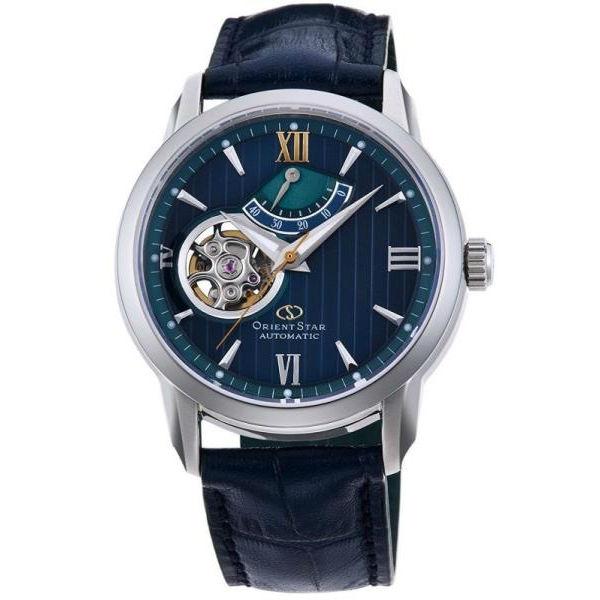 ORIENT 東方錶 東方之星 OPEN HEART系列小鏤空機械錶RE-DA0001L 全球限量1000只 世外桃源綠/39mm