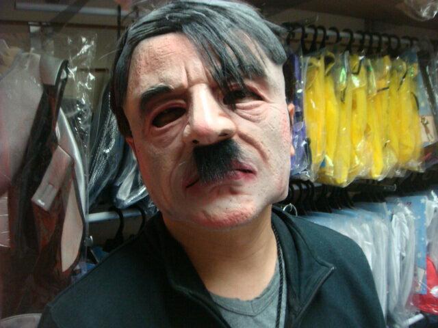 東區派對-萬聖節面具/名人面具/搞笑面具/希特勒面具