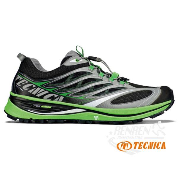 TECNICA泰尼卡男款INFERNO(黑綠)越野跑鞋運動鞋戶外休閒鞋TC11229100007【胖媛的店】