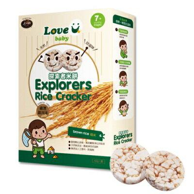 米大師探索者米餅-有機糙米