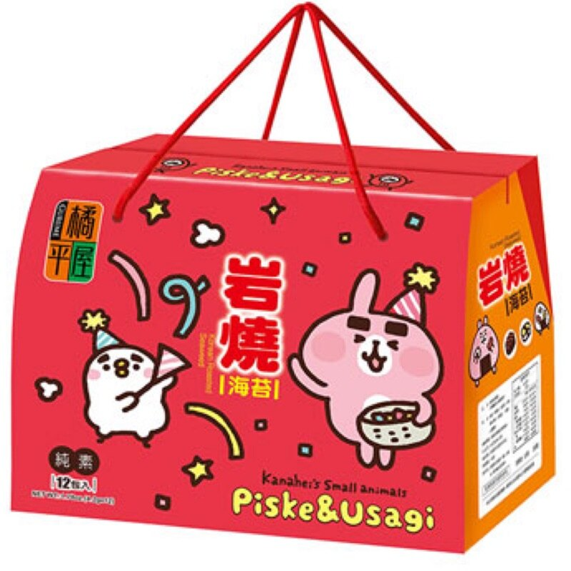 橘平屋 岩燒海苔禮盒-卡娜赫拉 50.4g 【康鄰超市】