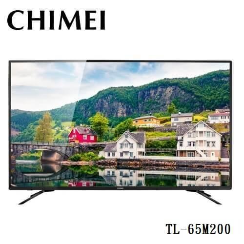 樂天回饋點數10倍CHIMEITL-65M20065型4KHDR聯網液晶顯示器附視訊盒12期零利率奇美TL65M200免運費公司貨