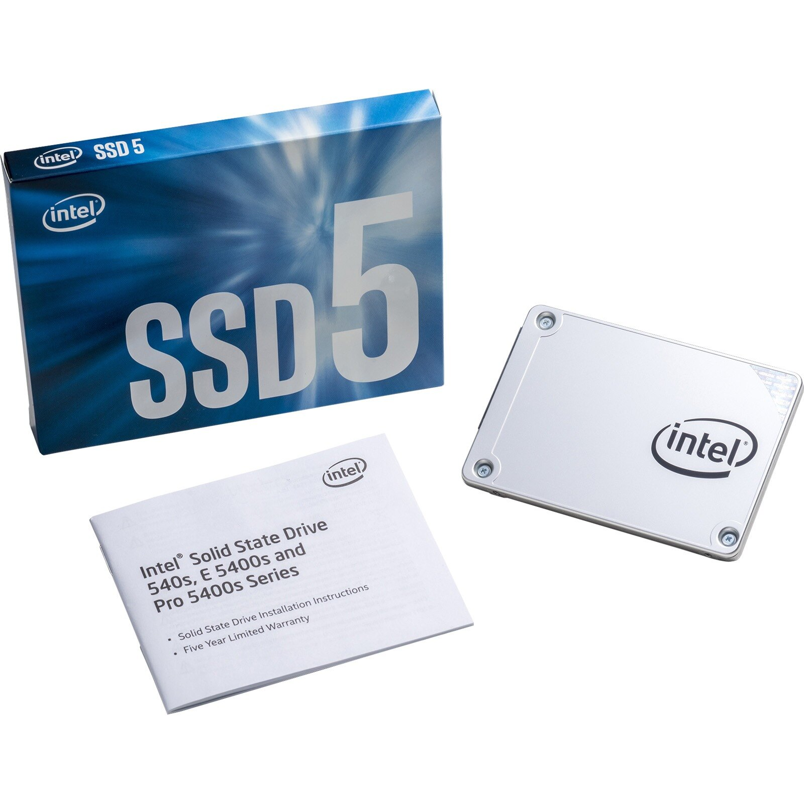 "Intel SSD 540s Series 480GB 2.5"" SATA III 480G TLC 7.0mm Internal Solid State Drive SSDSC2KW480H6X1 0"