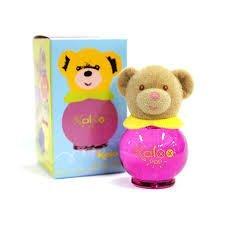 KALOO 無酒精寶寶香水 POP彩繪熊香水 8ML 桃紅瓶 ☆真愛香水★