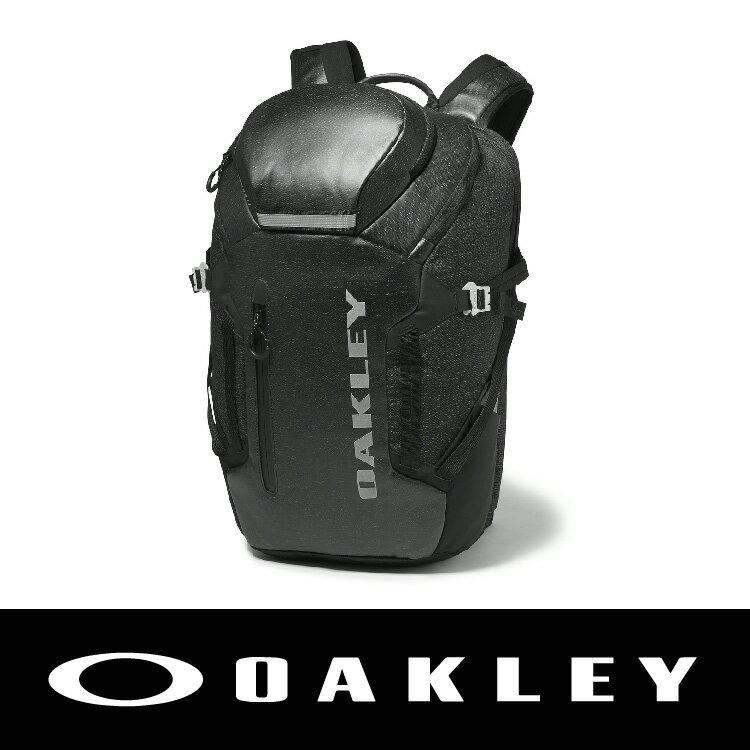 OAKLEY VOYAGE PACK 25L 2016新色 多功能後背包 防水拉鍊 黑色92738A-01K 萬特戶外運動