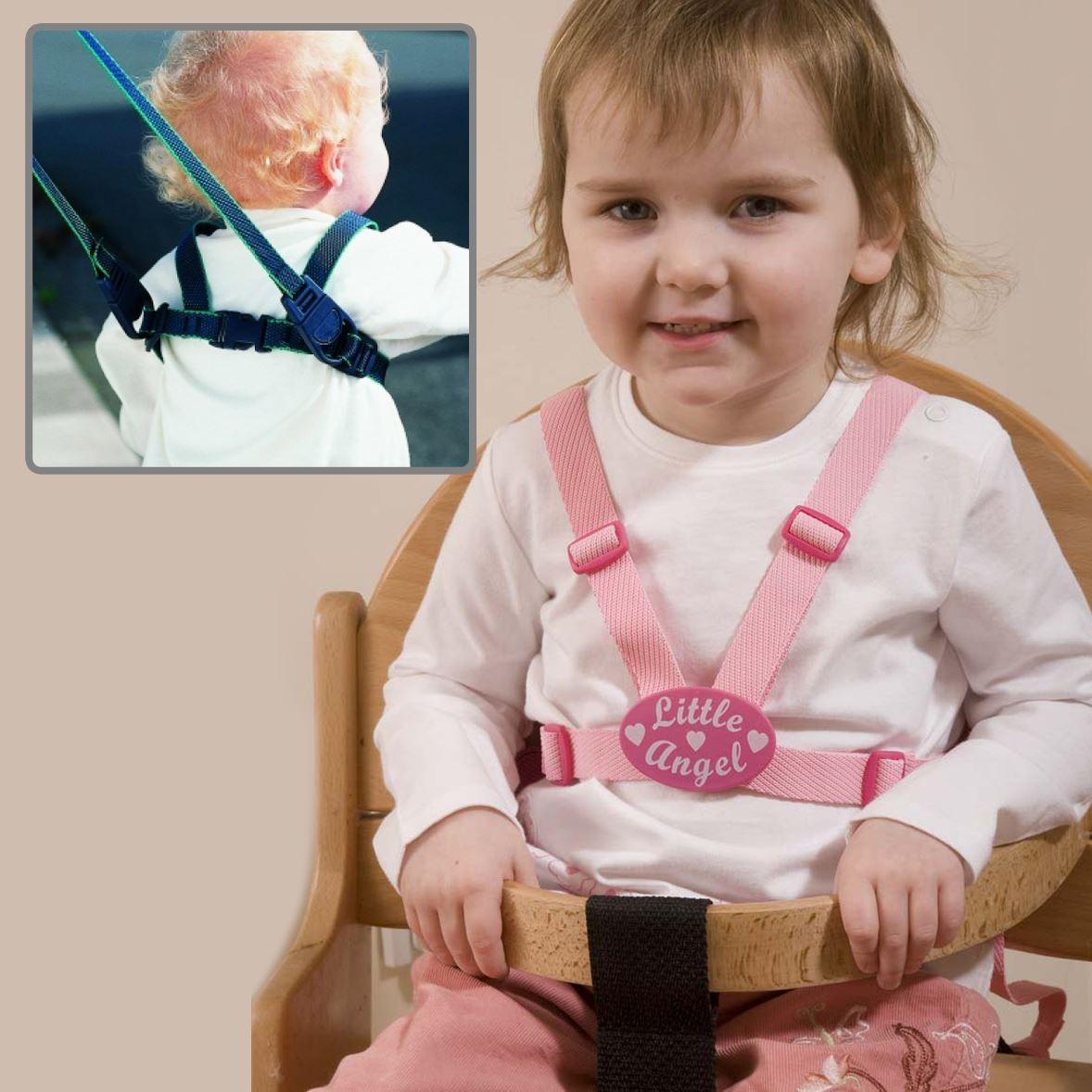 英國兒童防走失學步帶/安全牽引繩/攜帶式餐椅安全帶-小天使 CLIPPASAFE E-10D-CL036