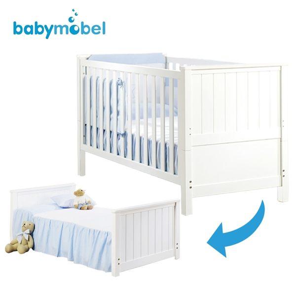 ★0-7歲都可用★babymobel 西班牙多功能嬰兒床/成長床-MI3款(含彈簧床墊) 【小丁婦幼】