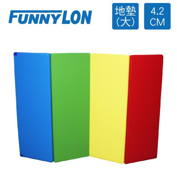 安全遊戲墊》FUNNYLON 韓國4.2cm地墊(大)-繽粉-200x140cm★N-LSI061-1