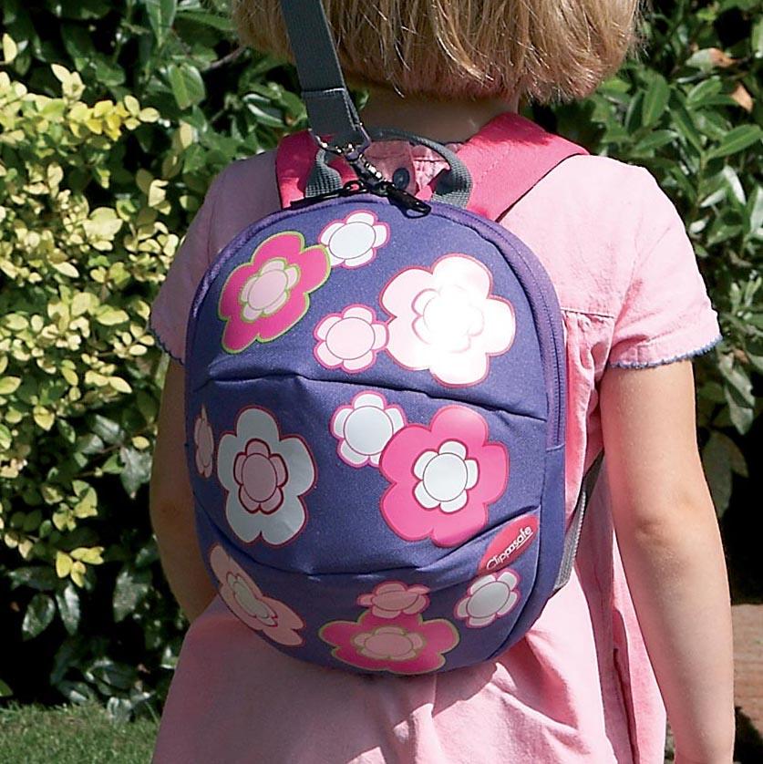 英國兒童防走失背包/幼童後揹包/寶寶雙肩-花朵 CLIPPASAFE R-66-4-CL664