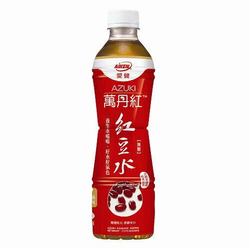 愛健 萬丹紅紅豆水 530mlx24瓶箱 【只限宅配】