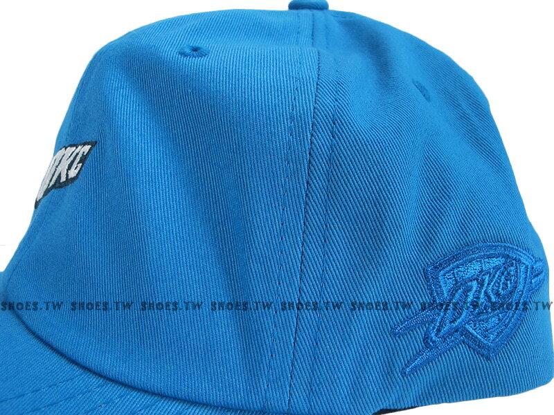 《下殺6折》Shoestw【5056036171325】Mitchell & Ness 老帽 SNAPBACK 雷霆隊 水藍色 2