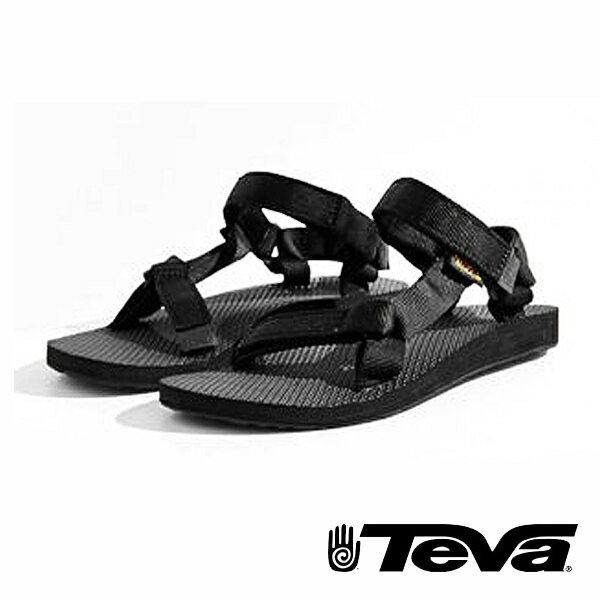 TEVA  美國 經典織帶涼鞋 TV1003987BLK 女鞋 0