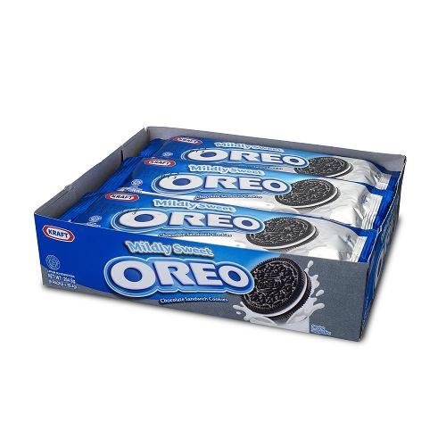 奧利奧OREO清甜巧克力餅乾隨手包264.6G【愛買】