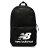 Shoestw【NTBCBPK8BK】NEW BALANCE NB 背包 休閒 運動 後背包 筆電包 黑色 白色大LOGO 0