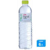 泰山環保包裝水Twistwater600ml*6入【愛買】 0
