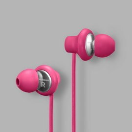 志達電子 Kransen JAM果醬紅 Urbanears 瑞典設計 耳道式耳機 For Android Apple
