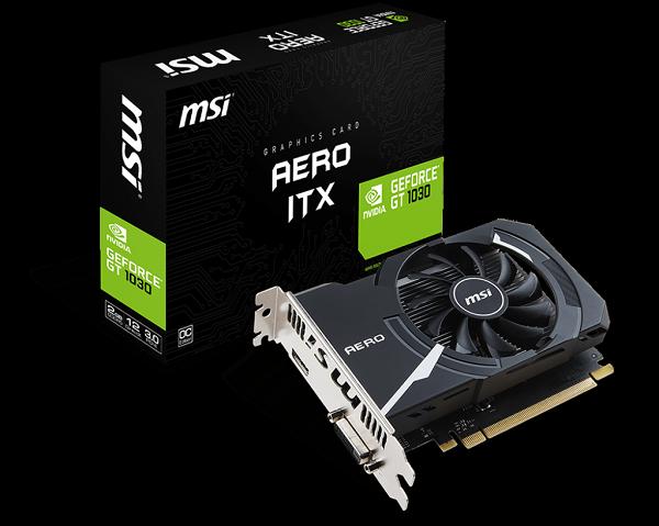 MSI 微星 GeForce GT 1030 AERO 2G OC 顯示卡★★★全新原廠公司貨含稅附發票★★★