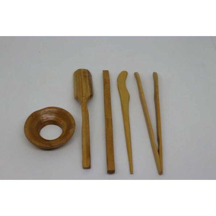 【紅芳庭】竹製四方用具 雅光 茶具 / 茶針 茶扒 茶則 茶則 套組 茶藝用品 茶道用具
