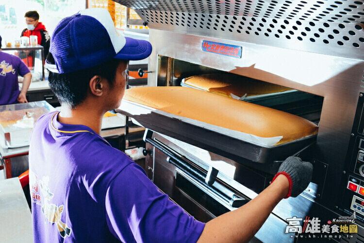 不加水!極濕潤蛋糕體!招牌黃金蛋糕(600g/盒)-笛爾手作現烤蛋糕! 2