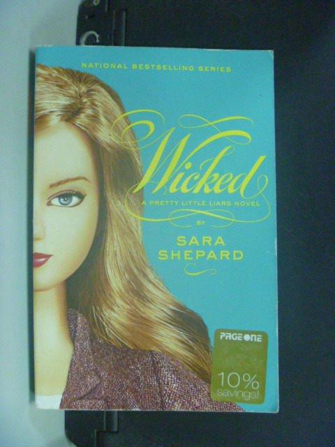 【書寶二手書T4/原文小說_GJP】Wicked_Shepard, Sara