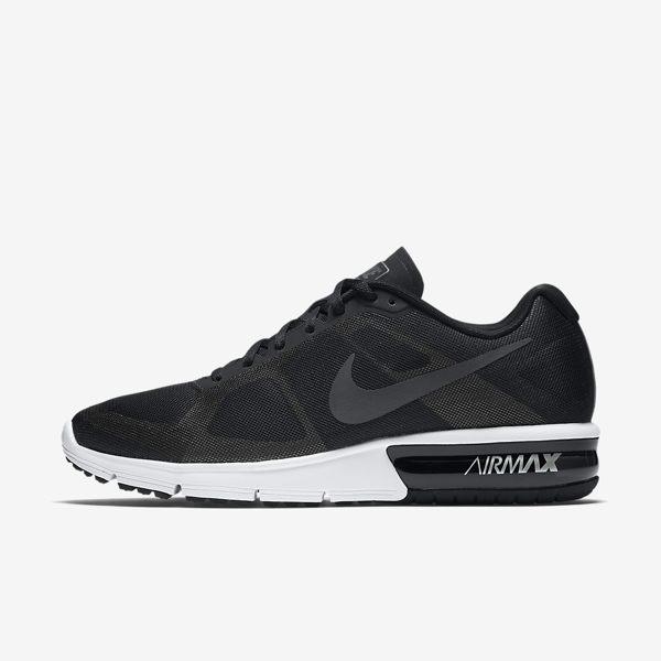 NIKE AIR MAX SEQUENT 男鞋 慢跑鞋 氣墊 黑白 【運動世界】 719912-009