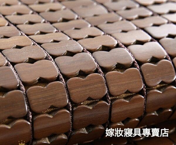 【嫁妝寢具專賣店】3D頂級碳化專利棉繩麻將蓆單人3×6尺蜂巢式止滑透氣網