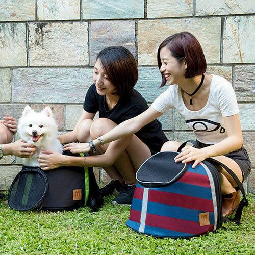 Loxin~BK0974~Myzoo動物緣 寵物袋鼠包 百變手提包 寵物包 寵物背包 貓狗