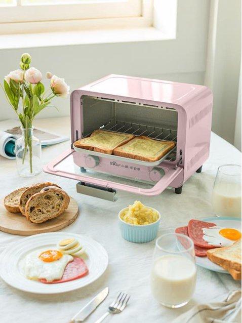小熊烤箱北歐風家用多功能電烤箱全自動蛋糕面包烘焙小型迷你電器 NMS 220V小明同學 秋冬新品特惠