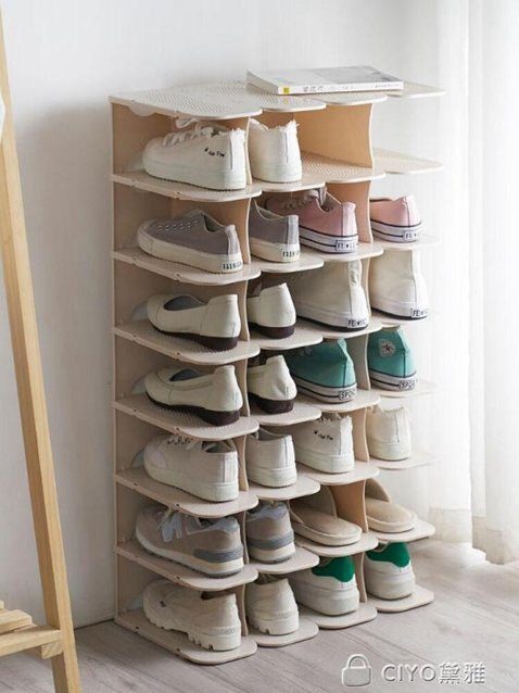 多層簡易鞋架家用省空間防塵宿舍鞋托鞋櫃經濟型鞋子收納架子 ciyo黛雅 秋冬新品特惠